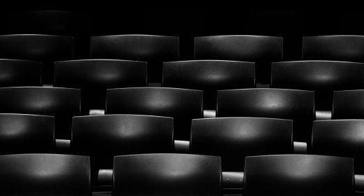 Promítání v letním kině v Morkovicích v srpnu 2018