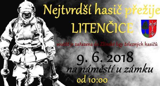 Nejtvrdší hasič přežije Litenčice 9. června